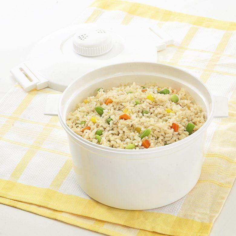 nordic ware microwave veggie pasta rice cooker
