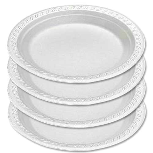 how are styrofoam plates made?