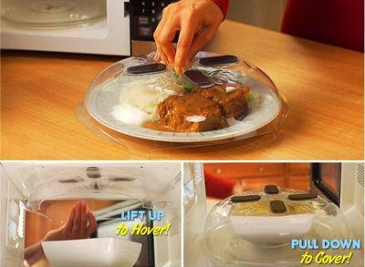 Hover Cover Microwave Plate Cover