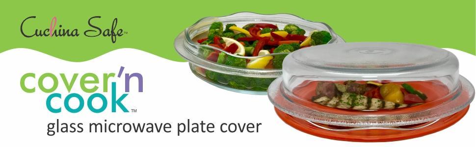 Non Plastic Microwave Cover