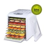 Best Digital Food Dehydrator Stainless Steel Drying Trays & Digital Timer