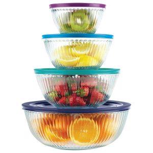 Pyrex bowls with lids hgjhkjchdffisdoo dsfiui ck