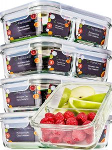 Glass Meal Prep Containers With Lids 37nxfg74nfhf