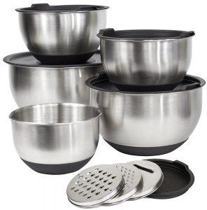 Premium Grade Stainless Steel Bowl Set with Lid dddua6syu ey8gd38